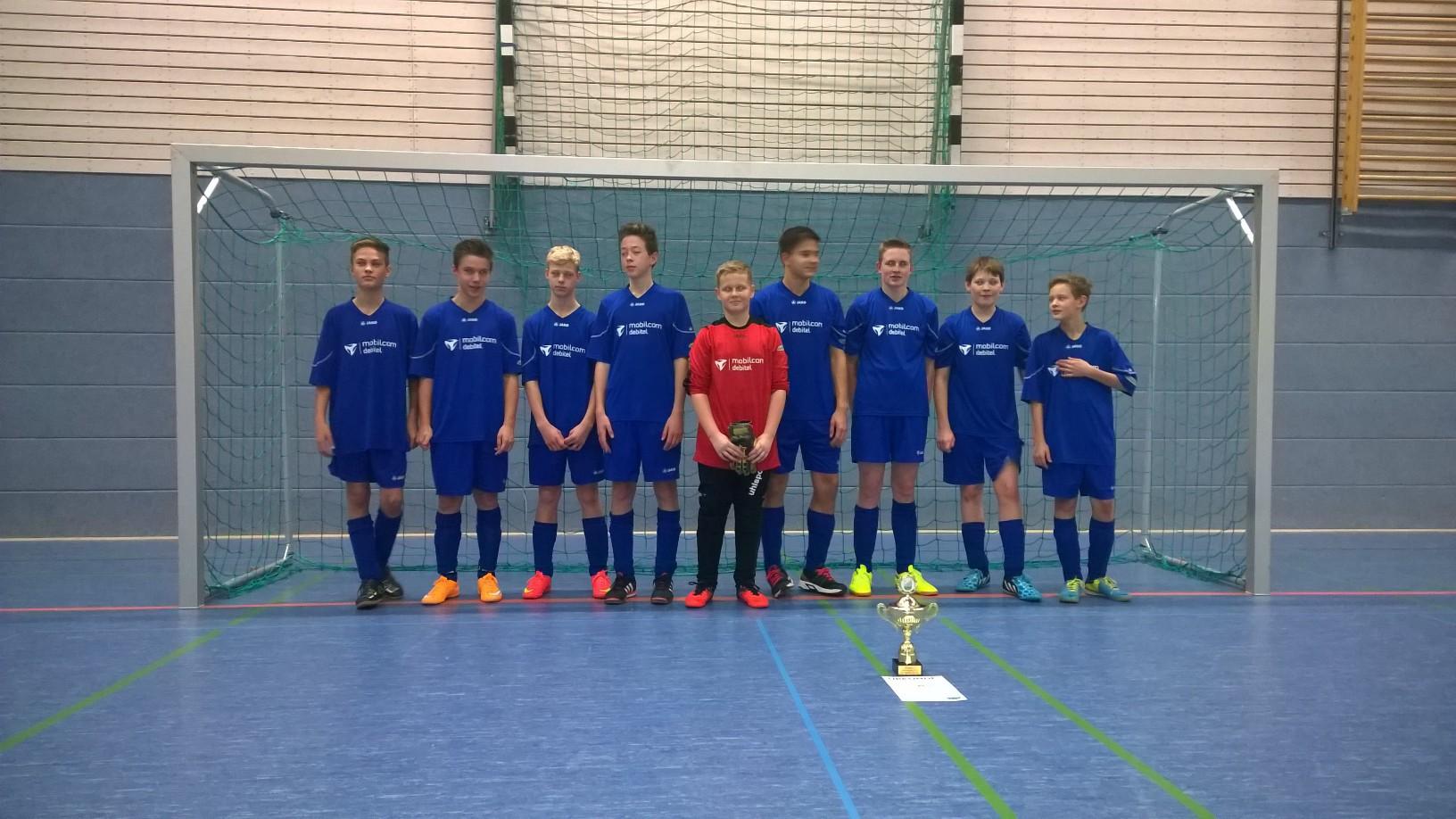 C-Jugend : Turnier des SV Dautzsch in Wettin - Turniersieg !!!