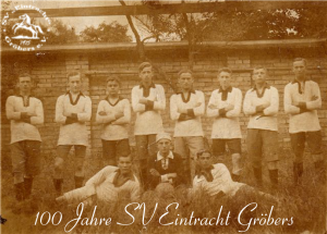 100 Jahre Verein - Fußballmannschaft von 1917