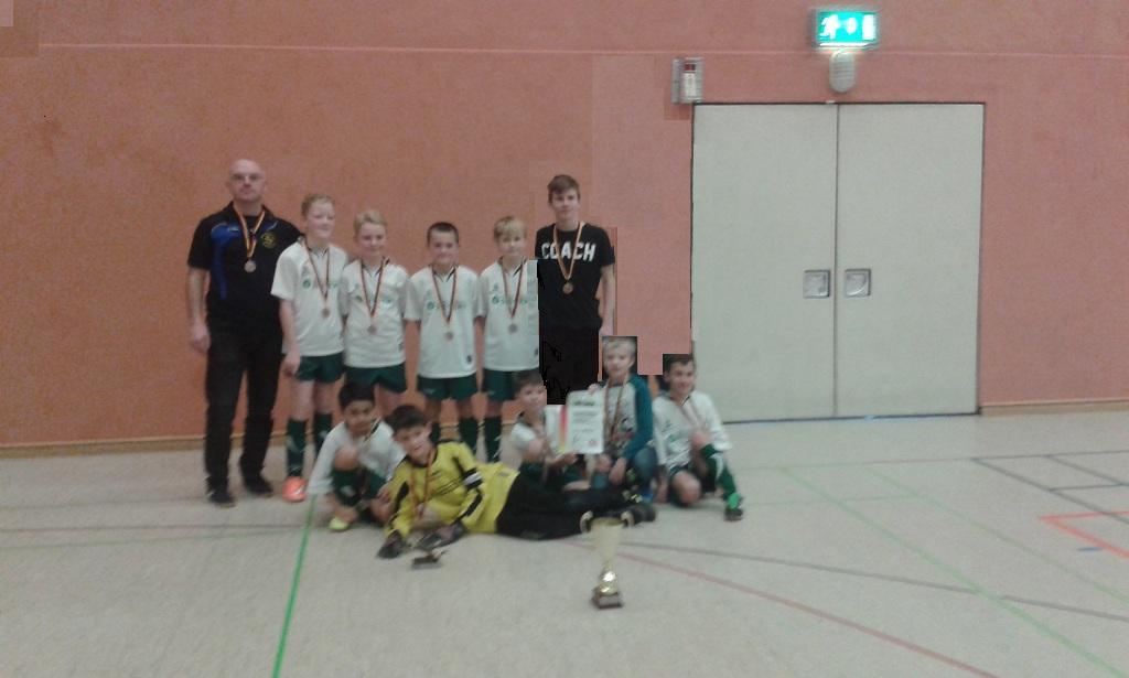 E-Jugend  :  3. Platz bei der HKM - Endrunde in Merseburg