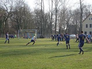 1. Herren Saalekreispokal-Halbfinale : SV Eintracht Gröbers - SSV 90 Landsberg   1:3