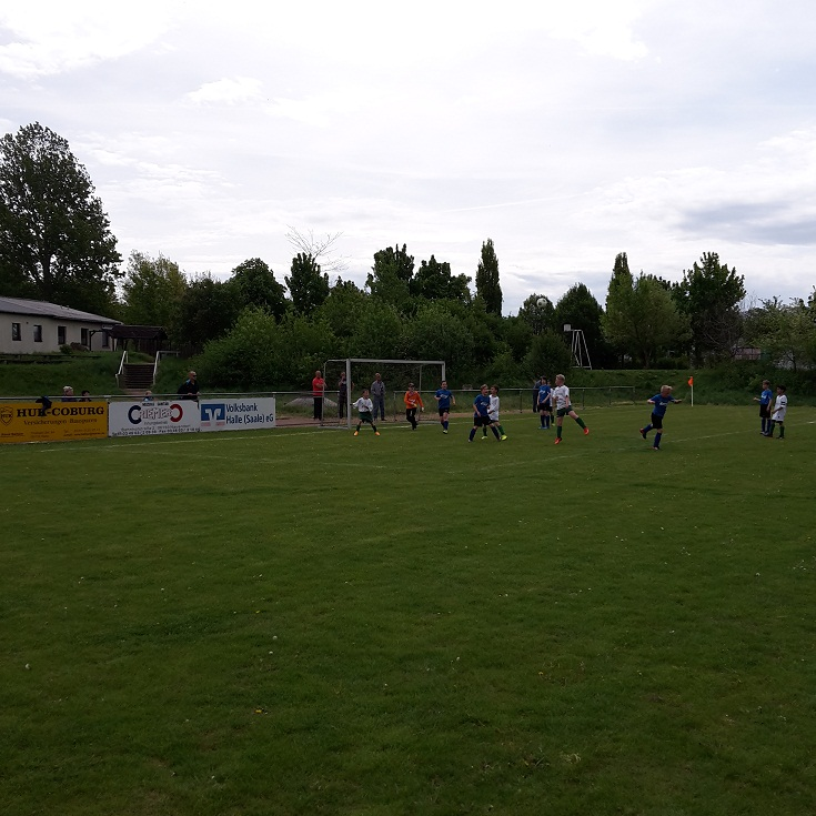 """1. Kreisklasse E-Jugend : FSV Nauendorf - SV """"Eintracht"""" Gröbers     0:6"""