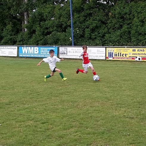 """E-Jugend : JSG BO - SV """"Eintracht"""" Gröbers              1:1"""