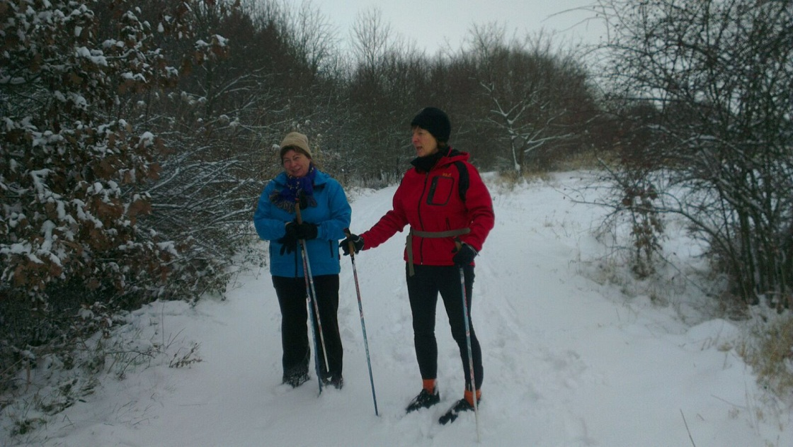 Nordic Walking : Zünftiger Start 2016