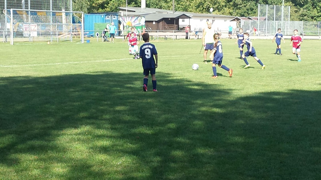 """E-Jugend : SV """"Eintracht"""" Gröbers - SG Reussen   1:4"""