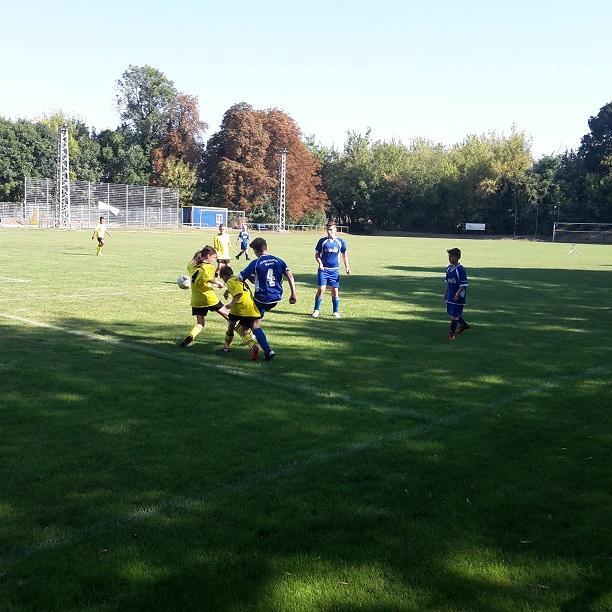 "D-Jugend : SV ""Eintracht"" Gröbers - SV BW 90 Wallwitz  2:2"