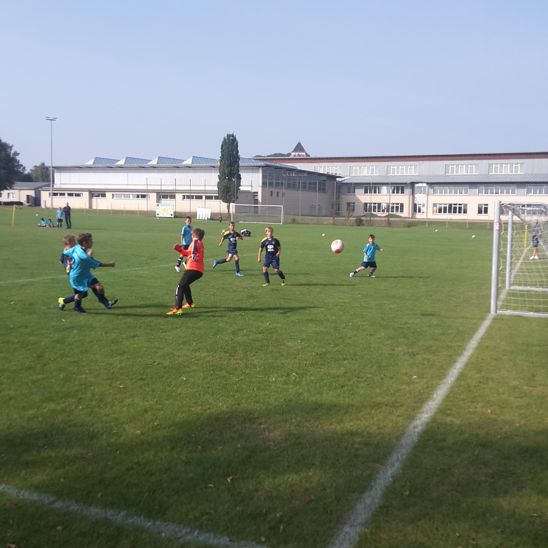 """D-Jugend Kreisklasse : Nachwuchs FC Landsberg- SV """"Eintracht"""" Gröbers 0:7"""