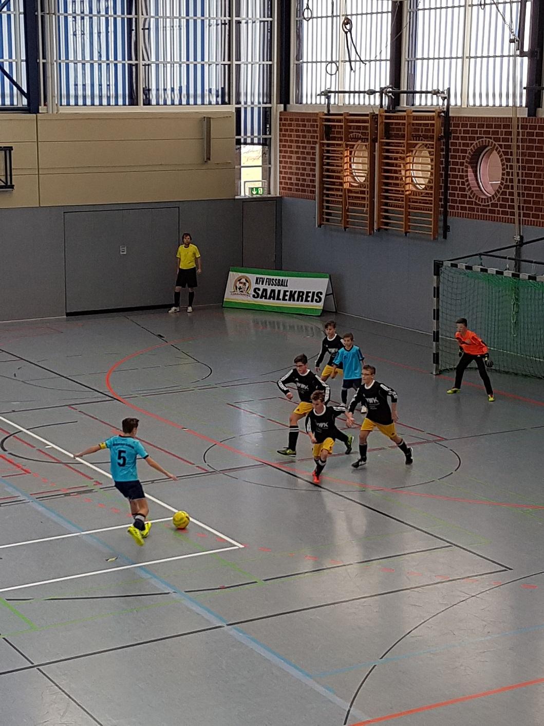 Futsal Endrunde D-Jugend : gut gekämpft ,nicht enttäuscht