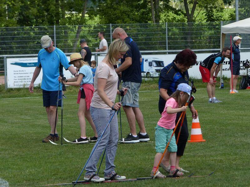 "14. Familiensportfest des SV ""Eintracht"" Gröbers"
