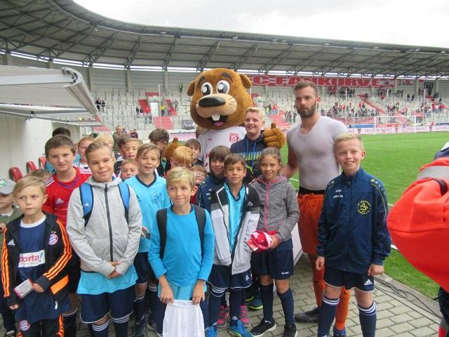 Fußball : Eintracht-Jugend mit erfolgreicher Mission