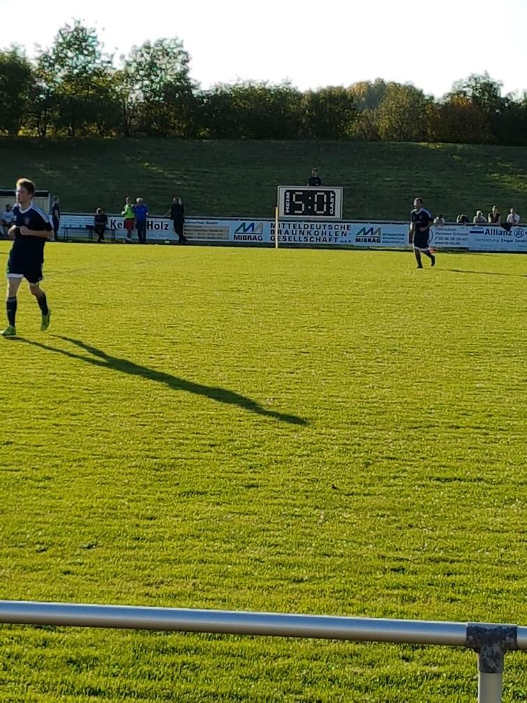 1.Herren Landesklasse : SV Blau-Weiß Günthersdorf - SV Eintracht Gröbers  5:0