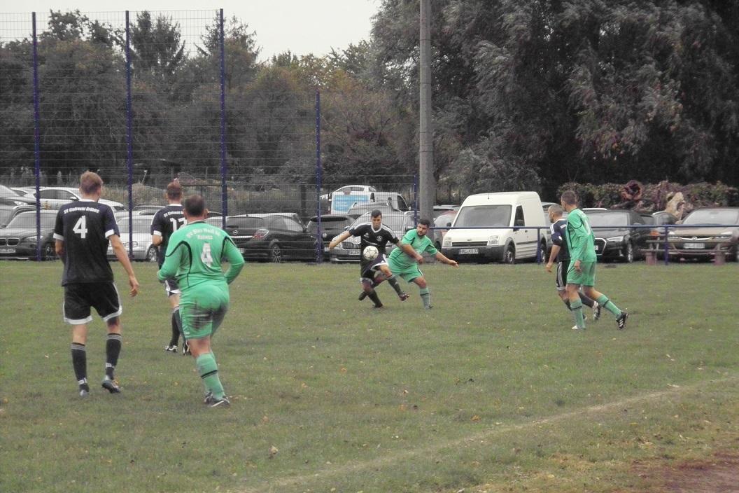 Herren Saalekreispokal : SV BW 90 Wallwitz  - SV Eintracht Gröbers  1:4