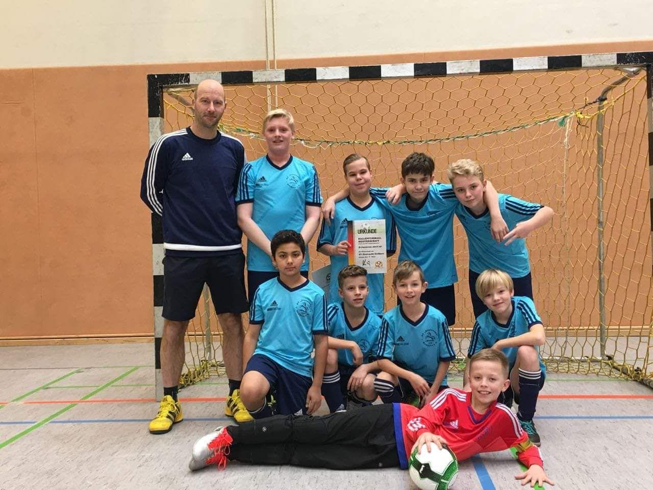 D-Jugend: Futsalmeisterschaften - Da war nichts zu holen