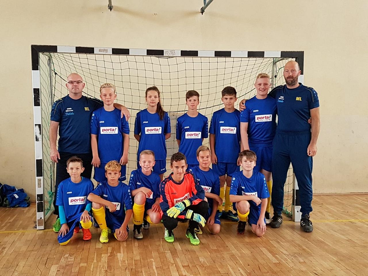 Eintracht-Jugend : Neuen Trikotsatz gewonnen