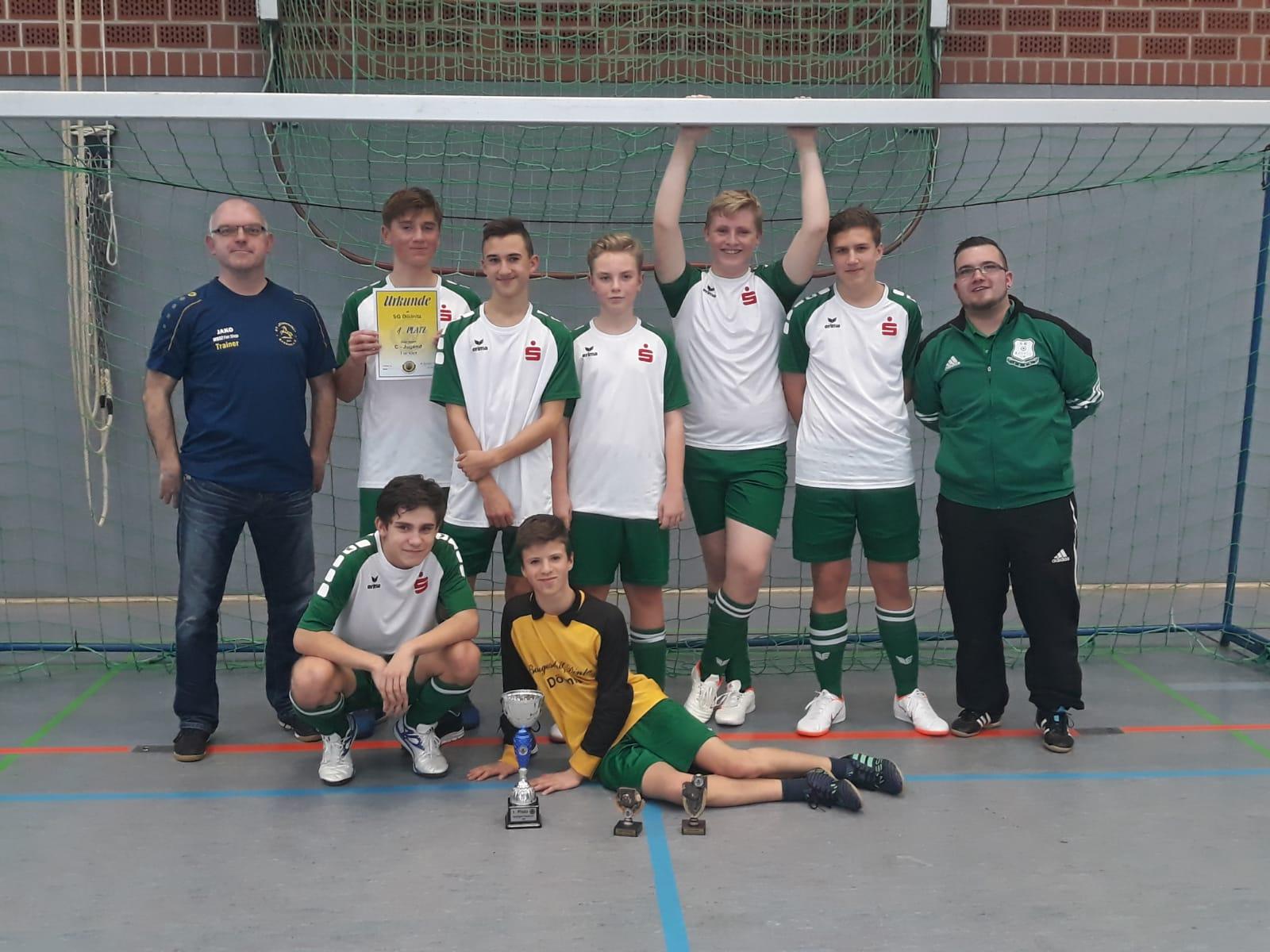 Turniersieg der C-Jugend beim 17. Nachwuchs Hallen-Cup des TSV 1910 Niemberg
