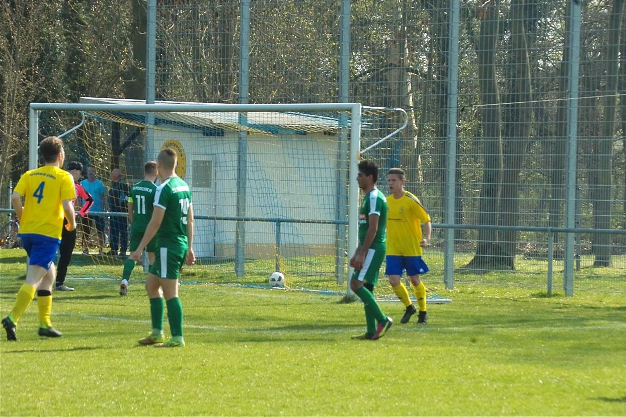 1.Herren Landesklasse : SV Eintracht Gröbers - SV Merseburg 99  II            4:2